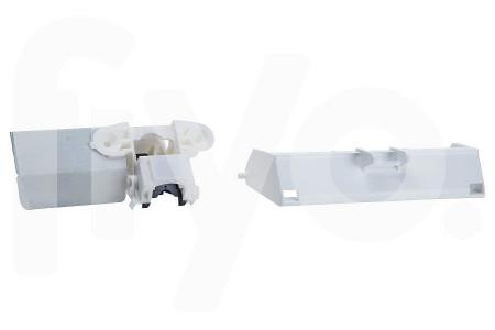 Deurvergrending (slot) mechanisch incl. schakelaar incl. handgreep 2 contacten vaatwasser 4055260212