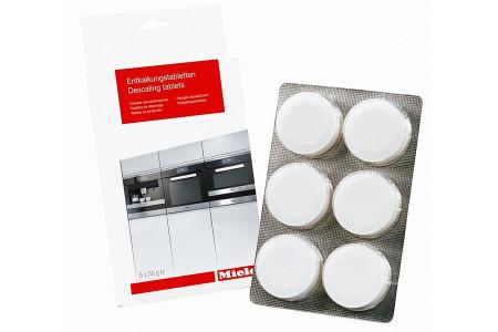 Miele ontkalkingstabletten (6st.) voor koffiezetapparaat en oven 10178330